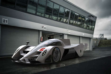 Hydrogen-Powered Racing Vehicles - The Pagani Ganador Concept Racer is Eco-Friendly on the Track
