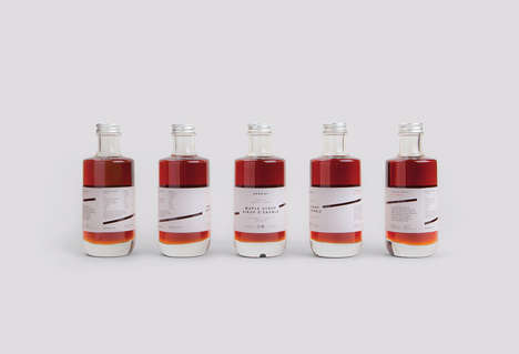 Brand-Promoting Maple Syrups - These Maple Syrups Were Created as Gifts by a Design Agency