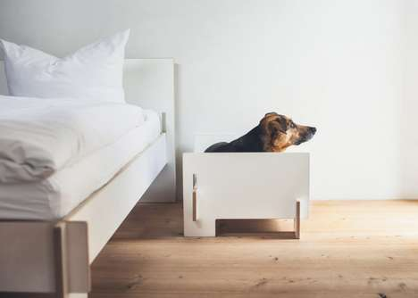 Flat-Pack Dog Beds - 'Klaffer' is a Doggie Version of Nils Holger Moorman's Popular 'Siebenschlafer'
