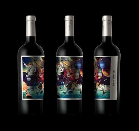 Mythical Wine Branding - This Wine Branding Takes Its Inspiration from Myths and Astronomy