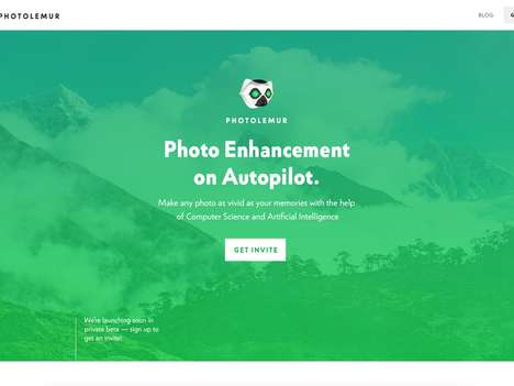 AI Photo-Enhancing Software - The 'Photolemur' Photo Editing Software Automatically Enhances Images