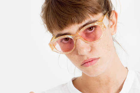 Marbled Artist-Made Eyewear - These RETROSUPERFUTURE Sunglasses Were Created with Julian Klincewicz