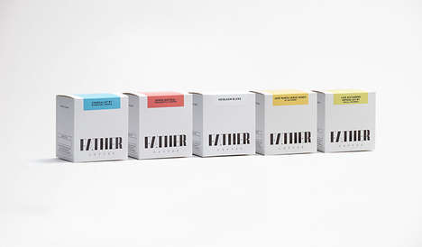 Upscale Packaged Coffee Branding - The Father Coffee Packaging is Color-Coded for Convenience
