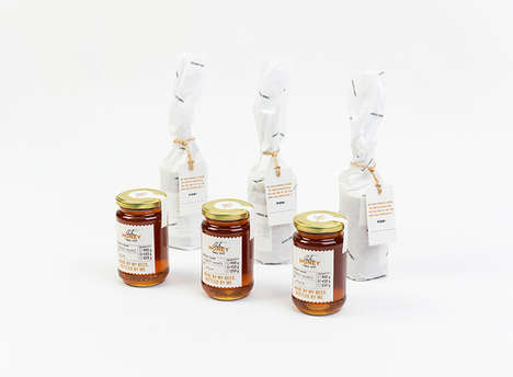 Artisanal Honey Branding - Anton Honey Delivers a Raw Product in a Family-Focused Package