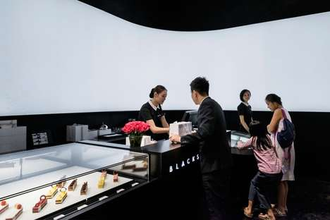 Modern Monochrome Bakeries - This Modern Patisserie Offers Dynamic High-End Desserts