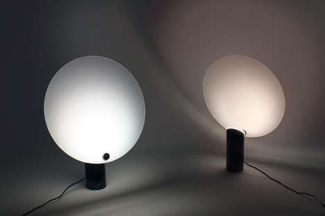 Sun-Recording Lamps - The Inhabitant Lamp is Able to Record the Light of the Sun and Play It Back