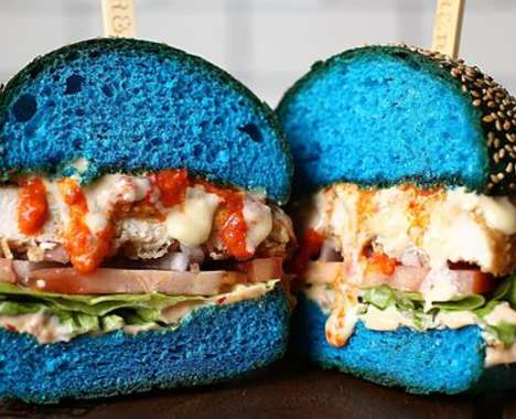 Bright Blue Burgers