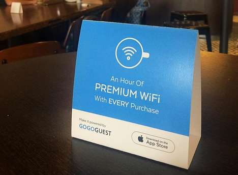 Internet-Managing Cafe Apps - The GoGoGuest App Helps You Find Coffee Shops With Free Wifi Access