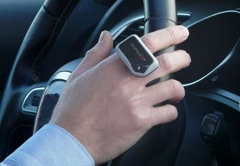 Driver-Analyzing Safety Rings - The 'STOPSLEEP' Anti-Sleep Alarm Measures Drowsiness for Safety