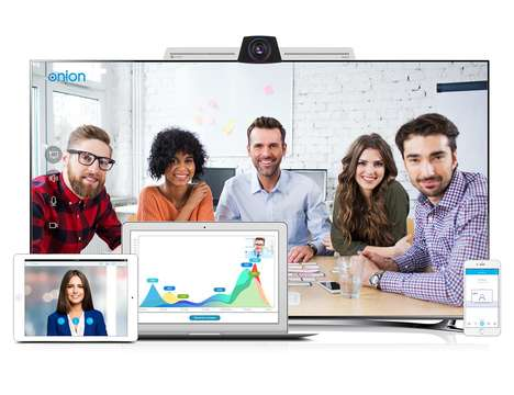 Cost-Effective Conferencing Equipment - The 'EZTalks Onion' System is for Large and Small Businesses