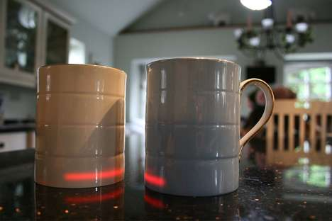 Smart Heated Coffee Mugs - The Glowstone Smart Fine Bone China Mug Keeps Beverages Hot