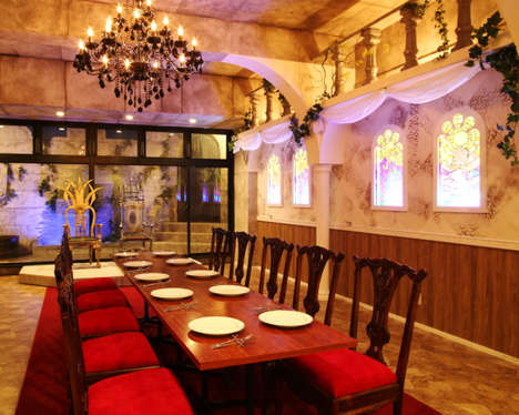 Fairy Tale-Themed Cafes - The Beauty and the Beast Cafe in Japan Whisks Visitors Away