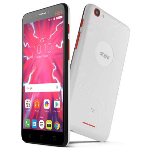 Big Battery Cell Phones - Alcatel's Pixi 4 Plus Power is a Smartphone that Doubles as a Power Bank