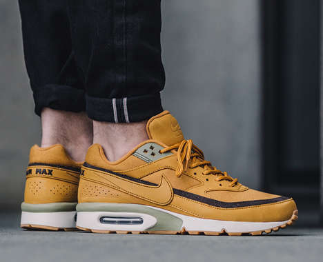 Wheat-Inspired Sneakers