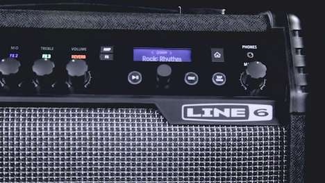 Wireless Guitar Amplifiers - The Spider V Amplifiers Offer Quality Sound Without Guitar Cables