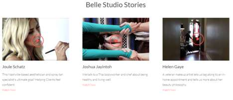 Beautician-Booking Servces - The Belle Project Lets You Book Beauty Professionals On Demand