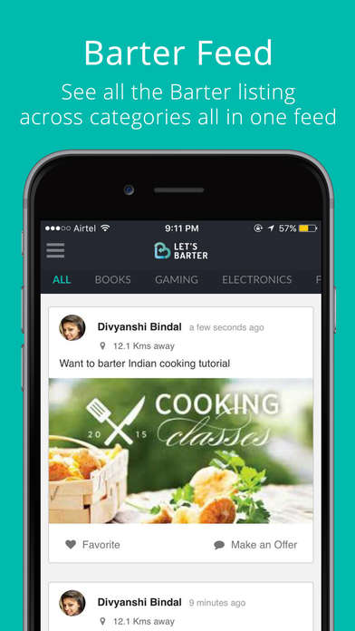 Traditional Bartering Apps - The 'Let's Barter' App Lets You Trade Products and Services