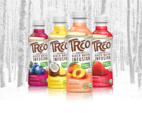 Birch Water Beverages - The Treo Beverages Offer Organic and Low-Calorie Refreshment