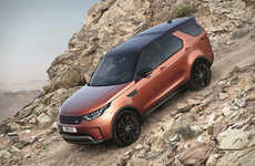 The 2017 Land Rover Discovery Offers a Bevy of Helpful and Luxury Features