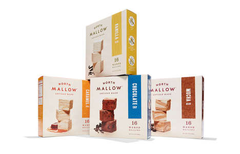 Flavored Artisan Marshmallows - These Cubed Marshmallows Come in a Diverse Range of Flavors