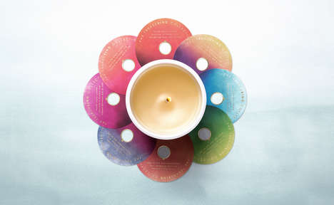 Relaxation-Enhancing Luxe Candles - This Candle Branding Emphasizes the Product's Soothing Qualities