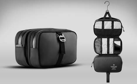 Unfurling Toiletry Kits - The Heimplanet Travel Dopp Kit Organizes Toiletries for Maximum Efficiency