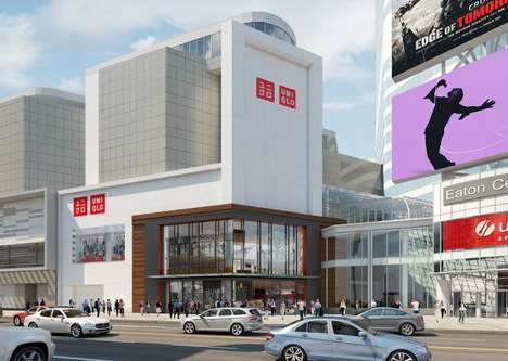 Localized Japanese Retailers - UNIQLO Will Open Its First Canadian Store at the Toronto Eaton Centre