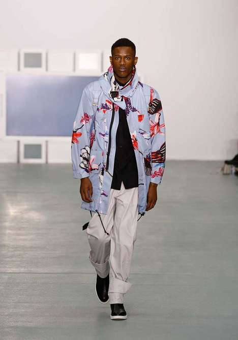 Hummingbird-Patterned Menswear - Teatum Jones' Spring/Summer Series Plays with Seasonal Motifs