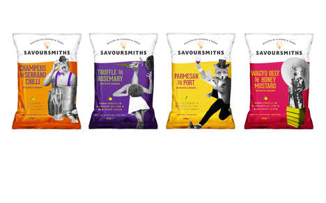 Premium Adult Potato Chips - The New Savoursmith Potato Crisp Flavors are for Discerning Palates