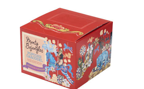 Popcorn-Flavored Chocolates - The Monty Bojangles Popcorn Carousel Truffles are Savory