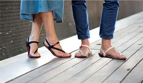 Unisex Ergonomic Sandals - These Comfortable Sandals from Maku Were Originally Made for Running