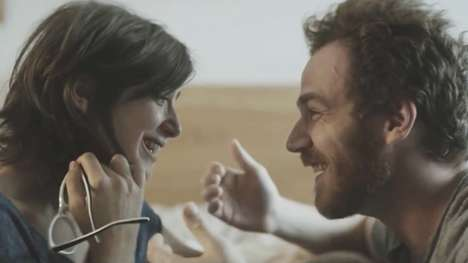 Love-Focused Lottery Ads - This EuroMillions Ad Considers Two People in Love Who are Destined to Win