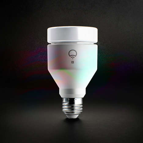 Infrared Smart Light Bulbs - The LIFX+ Bulbs Emit Invisible Infrared Light for Enhanced Security