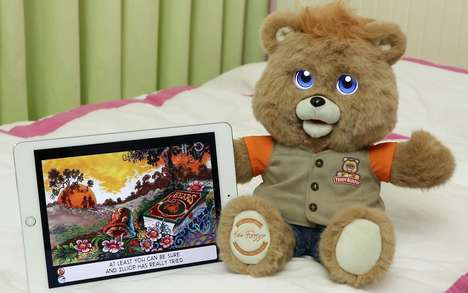 Bright Eyed Teddy Bears - The Classic Teddy Ruxpin Stuffy is Getting a Modern Update