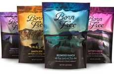 Nature-Themed Pet Food - 'Born Free Pet Food' Uses Imagery to Attract Pet Owners