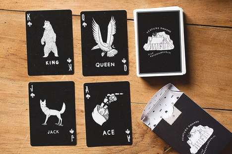 Camping Equipment Playing Cards - The DAN & DAVE Camp Cards Double as a Useful Tool When Camping