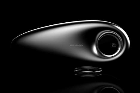Aerodynamic 360-Degree Speakers - This Beosound Wireless Speaker Unit Concept is Abstractly Designed