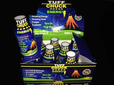 Vitamin-Enhanced Energy Shots - The 'TUFF CHUCK' Energy Shot Boosts Energy without Sugar