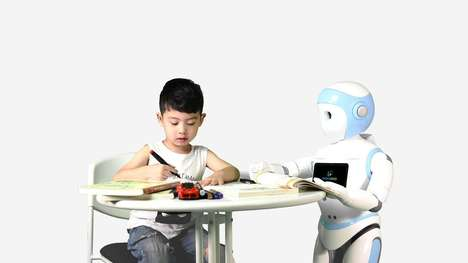 Autonomous Robotic Babysitters - The AvatarMind iPal is a Full-Time Companion for Children