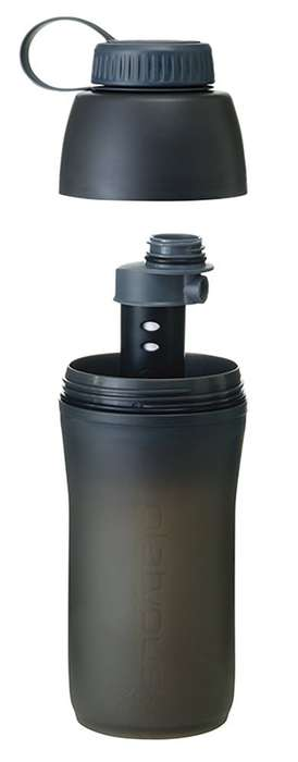 Water-Purifying Bottles - The Platypus Microfilter Bottle Filters Two Liters of H2O Per Minute