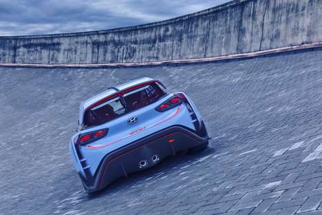 Aerodynamic Track Cars - The Hyundai RN30's Low Weight Offers a Competitive Advantage