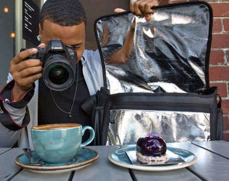 Reflective Camera Bags - The 'Flash Bag' Comes with a Built-In Photography Accessory