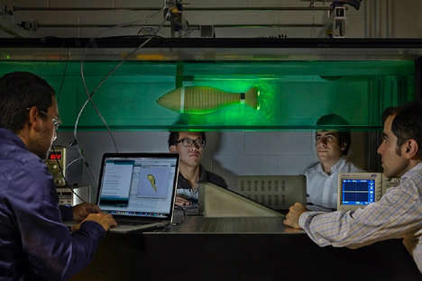 Robotic Knifefish Prototypes - Florida Atlantic University has Received Funding from the US Navy