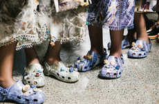 High-Fashion Foam Clogs