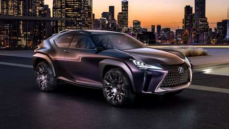 Compact SUV Concepts - The Lexus UX Features Audacious Styling and Stunning Engineering