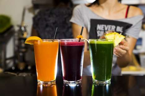 Superfood Juice Bars - The Lifestyle Juice Bar Offers An Assortment Of Flavor Profiles
