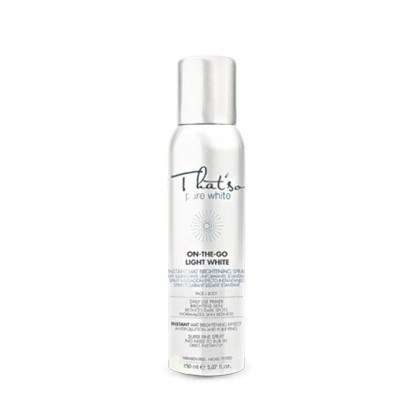 Brightening Lotion Sprays - This Antioxidant-Rich Spray Lotion from 'That's So' Evens Out the Skin