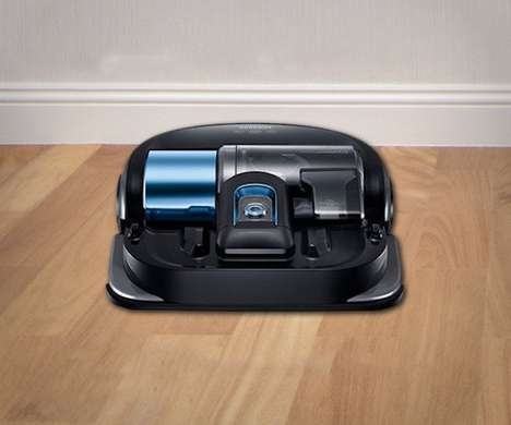 Smart Home Vacuum Robots - The Samsung Powerbot WiFi Vacuum Features Powerful Suction