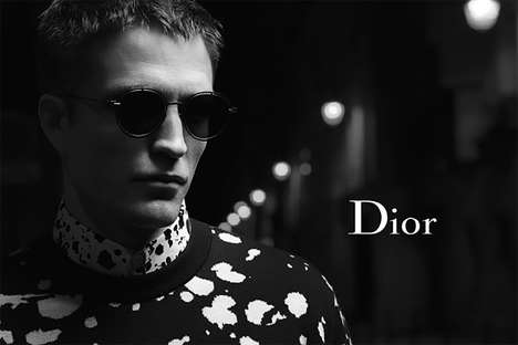 Actor-Enlisted Editorials - These Dior Homme Ads Depict a Stylish Robert Pattinson in Paris