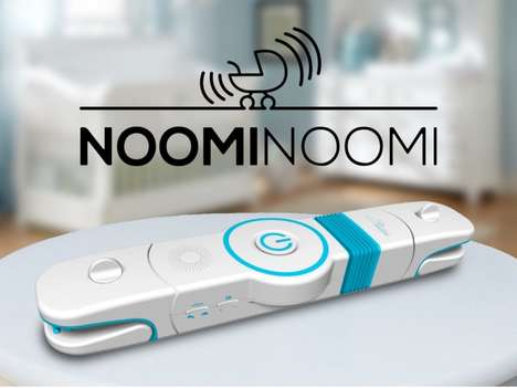 Stroller-Rocking Devices - The 'NoomiNoomi' Baby Rocking Device Aids Parents in Soothing Infants
